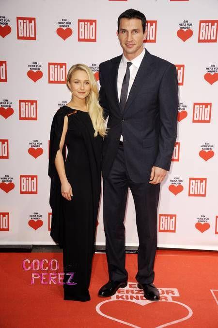 Hayden Panettiere & Wladimir Klitschko Are Draped & Dapper At The Ein Herz Fuer Kinder Gala