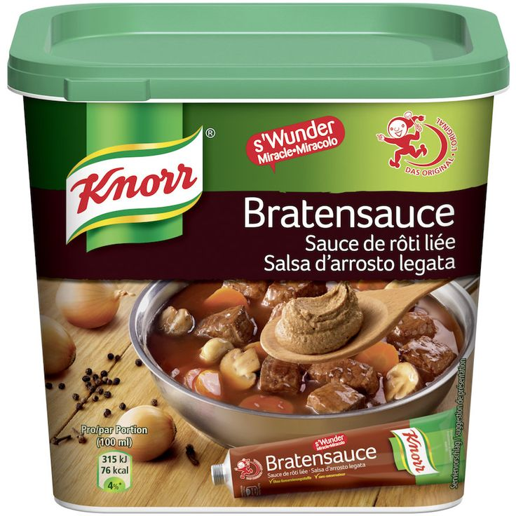 Knorr mezcla salsa marrón