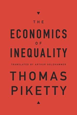 The Economics of Inequality - Thomas Piketty