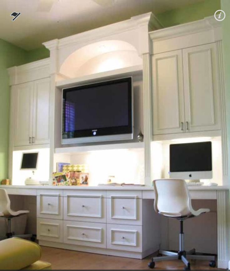 Awesome 2 Person Desk For Home Office Ideas : Cool Contemporary White 2  Person Desk For Home Office Made By Wooden With Light Green Wall Color  Laminate ...