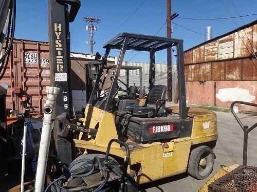 """HYSTER H60XL 6,000 LBS FORKLIFT: Hyster H60XL 6,000 Lbs Forklift Hrs: 7,148 S/N: C177B2192L Diesel Isuzu Motor Forks Length 38 1/2"""" NOTE:…"""