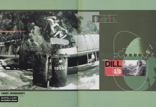 Alien Workshop - Jason Dill Ad (2000)