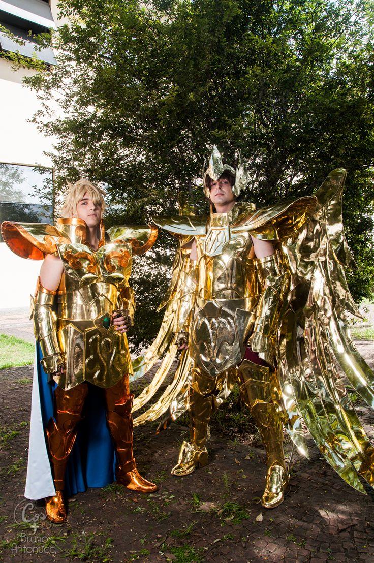 Leo Aiolia | Sagittarius Aioros | Gold Saint cosplay