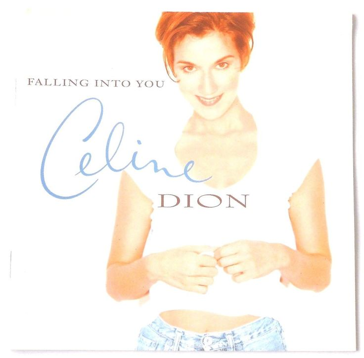 Celine Dion 'Falling into You' Music CD Because You Loved Me All By Myself (174A