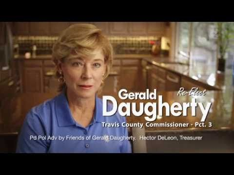 "Gerald Daugherty Campaign: ""Please Re-Elect Gerald...Please!"""