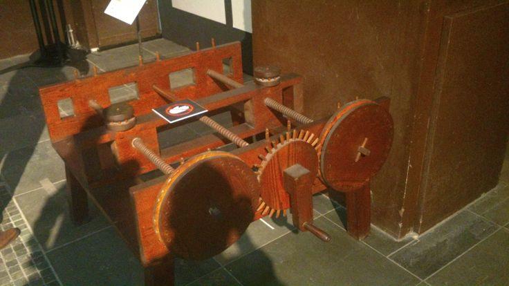 Een uitvinding van Leonardo da Vinci.