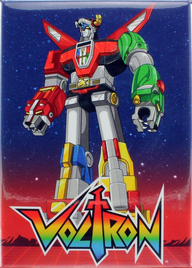 - Officially Licensed - Approximately 3.5 inches tall x 2.5 inches wide - Great for Voltron fans! - Made in China