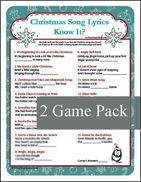 Christmas Carol pictionary or cherades