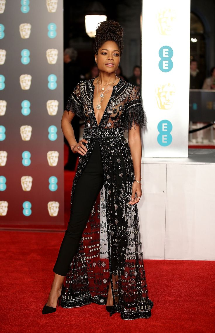 The Best Of The Blackout: Looks From The BAFTA's Red Carpet -  Naomie Harris #refinery29