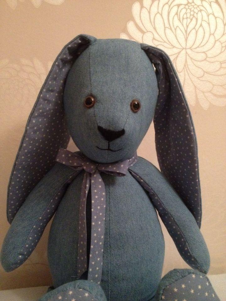 Hello there Mr Denim Bunny