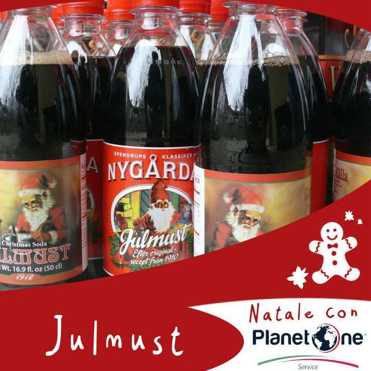 """Il Julmust, il cui nome significa in Svedese """"succo d'uva di Natale"""", è un soft #rink inventato nel 1910 come alternativa analcolica alla birra e consumato quasi esclusivamente in Svezia nel periodo natalizio.  La ricetta originale rimane ancora oggi un segreto!"""