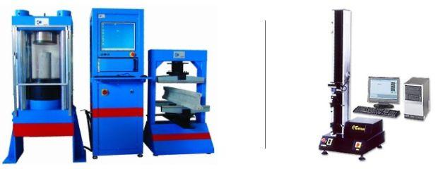 Maszyny wytrzymałościowe, twardościomierze, mikroskopy, chropowatościomierze i inny sprzęt laboratoryjny - Maszyny wytrzymałościowe, zrywarki, twardościomierze, mikroskopy - Oferta firmy Testlab