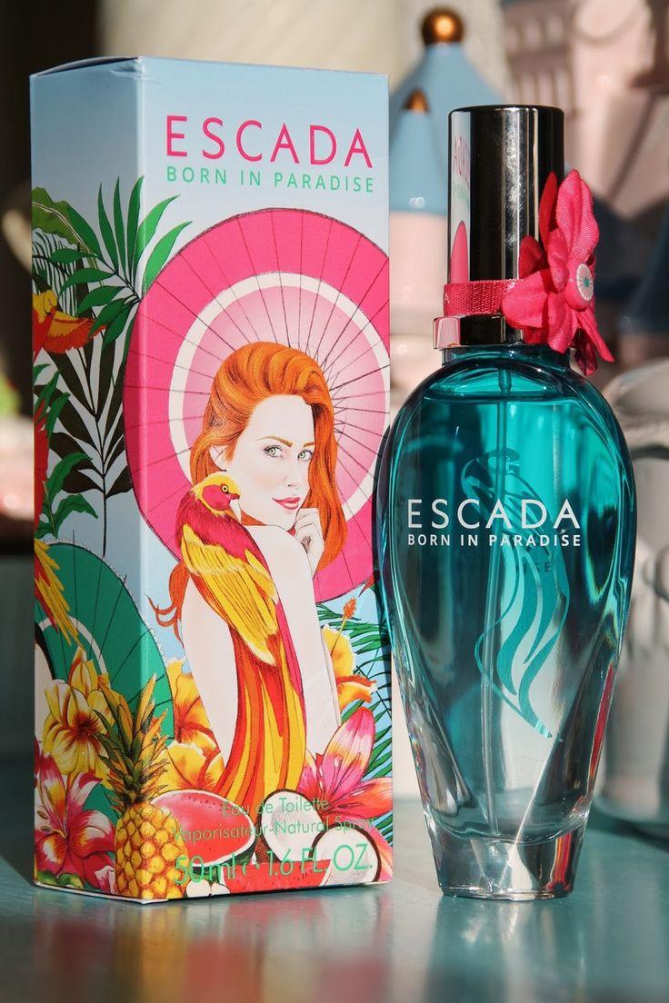 Escada - Born is Paradise valóban paradicsomi illatot nyújt ha éppen a paradicsomot kirobbanóan energikus gyümölcsös-száraz-meleg fás illatként képzeljük el. Fiatalos, nagyon gyümölcsös, nagyon Escada! Tengerparti nyaraláshoz tökéletes!