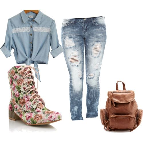 Cute Outfits for Middle School | ViolasTEA u2013 School is in Back to School Outfit Ideas u2013 | How ...