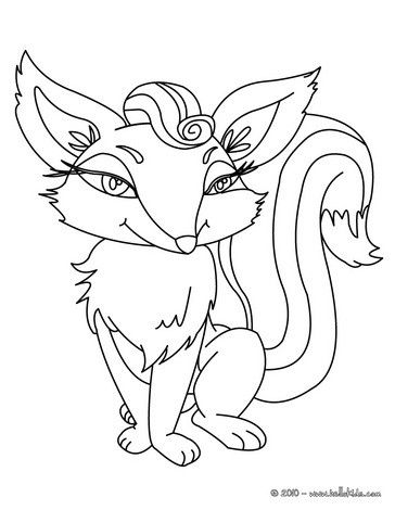 Cute Fox Coloring Page Do You Like FOREST ANIMALS Pages Can Print Out This Pagev Or Color It Online With Our