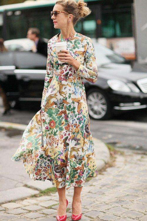#inspiring outfit looks fashion style styling flower prints