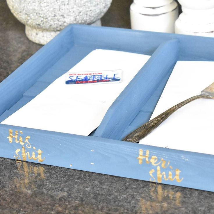 Kitchen clutter getting you down? We have a quick and easy DIY project to help with that! To make things even more awesome we included a FREE downloadable stencil template to really jazz up your shit-catcher...er...Kitchen Organization Tray! Check it out here! http://ift.tt/2ypED48 #freeswag #sunday #organization #kitchenclutter #clutterbuster #DIY #blog #blogger #wodworking #weekend #fallcleaning #ladieswithpowertools #Imadeit #Wheatland #yyc #yycmaker #Okotoks #custom #creative #shoplocal…