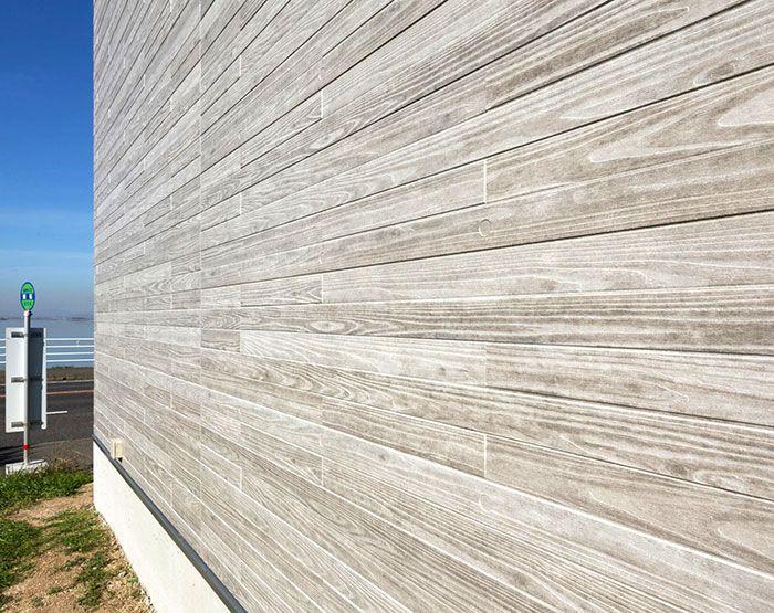 Ceraclad Faux Wood Fiber Cement Facades Modern Materials Cement Exterior Siding Fiber Cement Siding Green Building Design