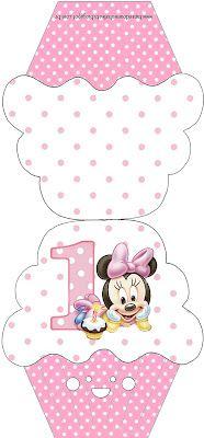 Imprimibles de Minnie primer año 5.