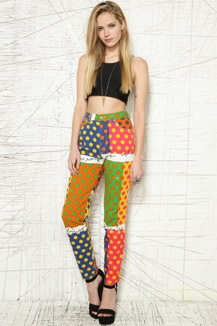 The waist is too high and they look like clown pants!