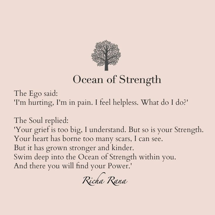 Poem: OCEAN OF STRENGTH // soulful poetry, love poems, mystical poetry, mysticism, romance, pain, divine poetry, romantic poetry, deep words, deep poetry, notes to my soul, richa rana, the dignified soul, soulful living, dignified living, writers, poets, soulful writers, soulmates, eternal lovers, true love, divine love, modern poetry, sufism, sufi poetry, rumi lovers, poetry lovers, devotional writings, richa rana poetry, ego vs soul, mental strength // Repin this to save for later.  Follow…