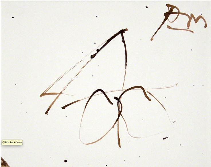 ROBERT MOTHERWELL  Dedalus Sketchbook: Untitled, 1982