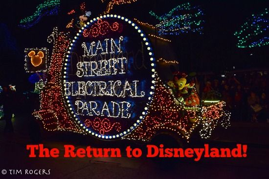 The Main Street Electrical Parade has returned home to Disneyland, but will only be there for a short amount of time. Check out our review.