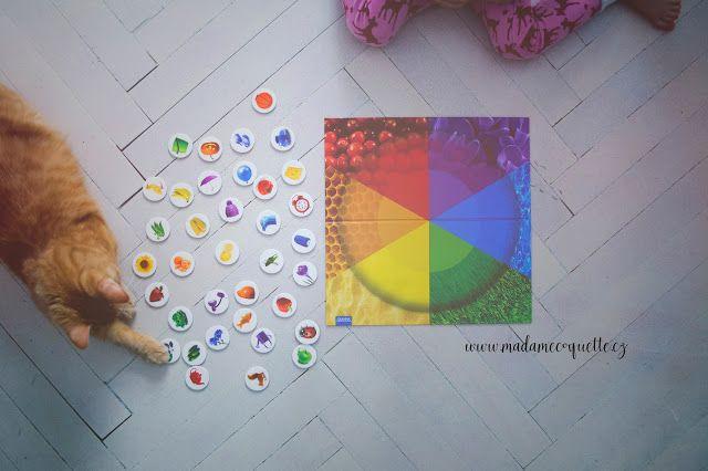 Granna hra na barvy