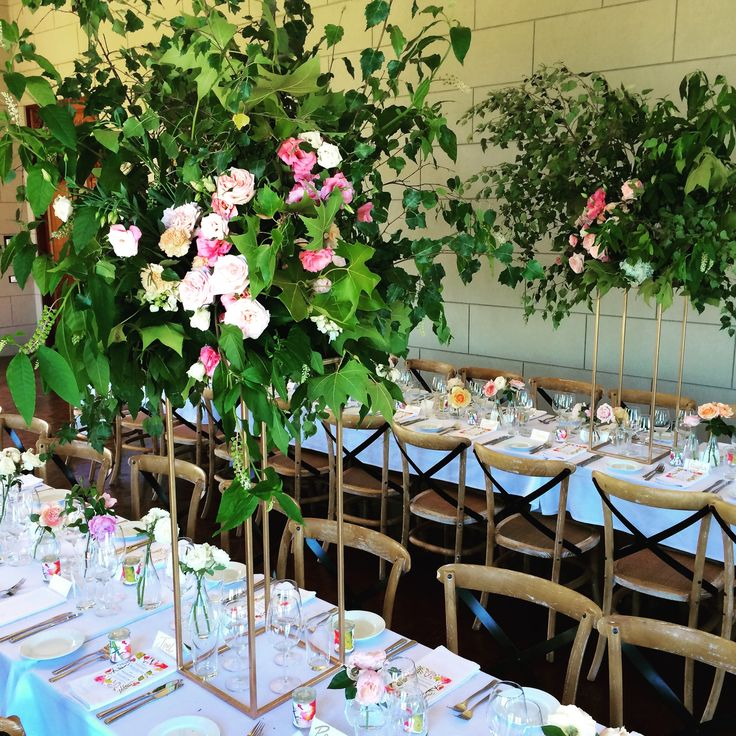 1140 best images about wedding reception table for Wedding reception centrepieces