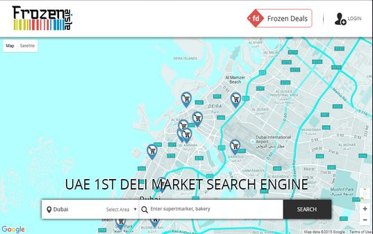 DIGI Interacts design and developed the UAE 1st deli market search engine.