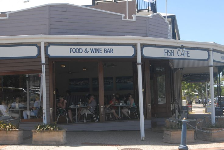 Fish Cafe at Manly, east of Brisbane.