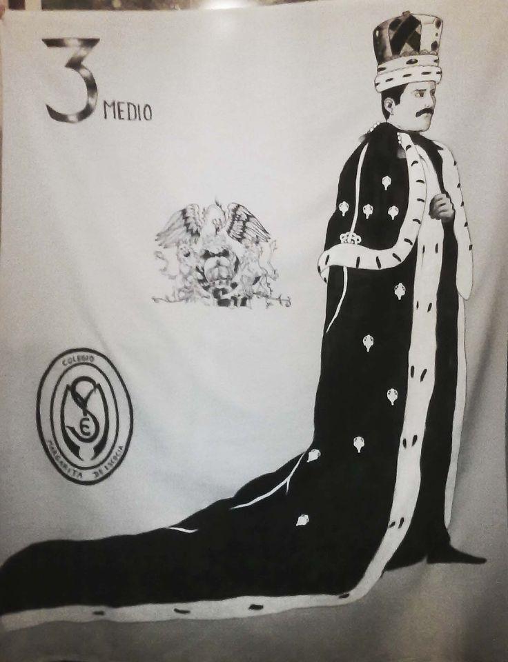 Lienzo Freddie Mercury 1x1.50 mt.