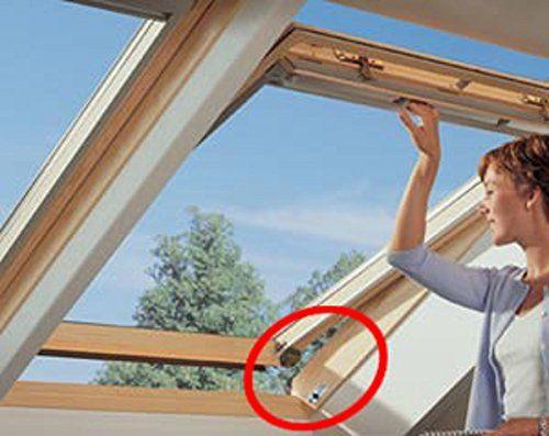 Abus 35230 FTS3003W Verrou de fenêtre battante/coulissante à bouton avec cales Blanc Ivre: 1 unité(s) de cet article soldée(s) à partir du…