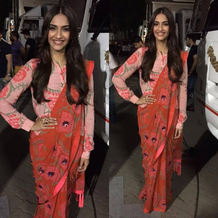 Another day, another great look from Sonam Kapoor! This time in Anupamaa.