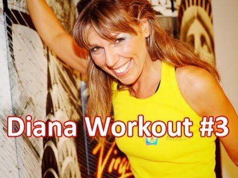 Circuito di esercizi per dimagrire e rassodare | Diana Workout #3