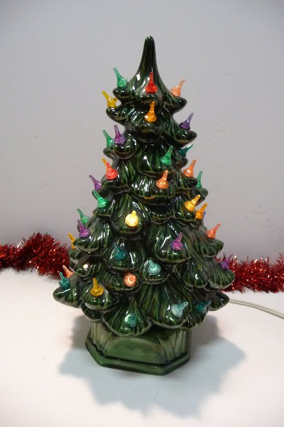 67 Best Ceramic Kitchmas Trees Images On Pinterest