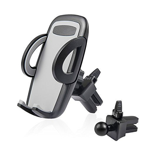 Support Telephone Voiture Support Smartphone 360 Degrés Flexible Rotation – DEEPOW Support Téléphone Ventilation Voiture Largeur Ajustable…
