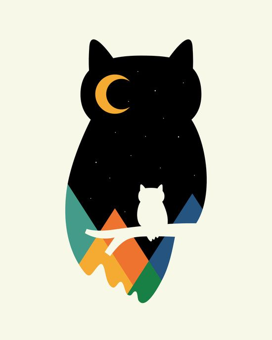 Eye On Owl Art Print by Andy Westface   Society6