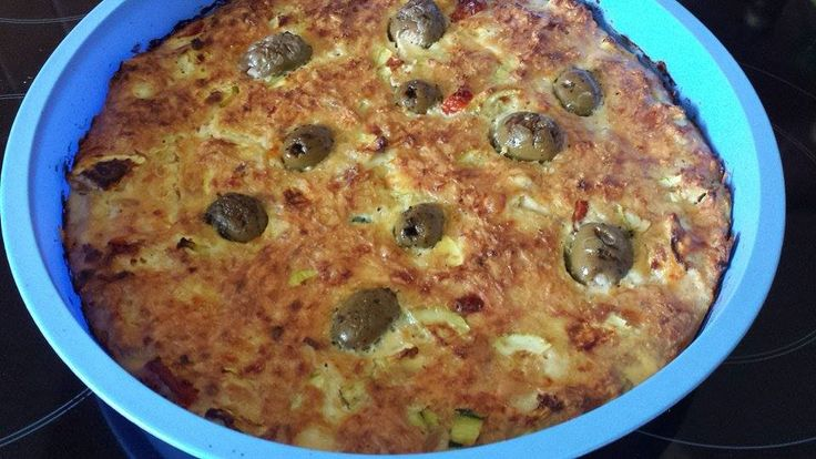 Schüttelpizza lowcarb