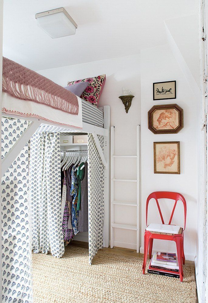 28 best Small Bedroom & no closet ideas images on Pinterest