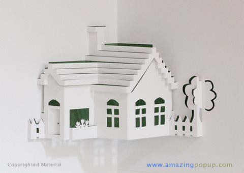 Little Farm Popup Card Pop Up House Of Cards Pop Up Cards