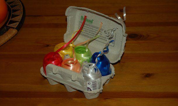 Geschenkband-Aufbewahrungssystem