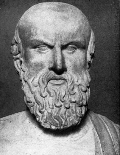 Aeschylus was the first of the three great ancient Greek writers of tragedy. Born at Eleusis, he lived from about 525-456 B.C., during which time the Greeks suffered invasion by the Persians in the Persian Wars. Aeschylus fought at the major Persian War Battle of Marathon.Aeschylus was the first of the 3 renowned prize-winning Greek writers of tragedy (Aeschylus, Sophocles, and Euripides). He may have won either 13 or 28 prizes.