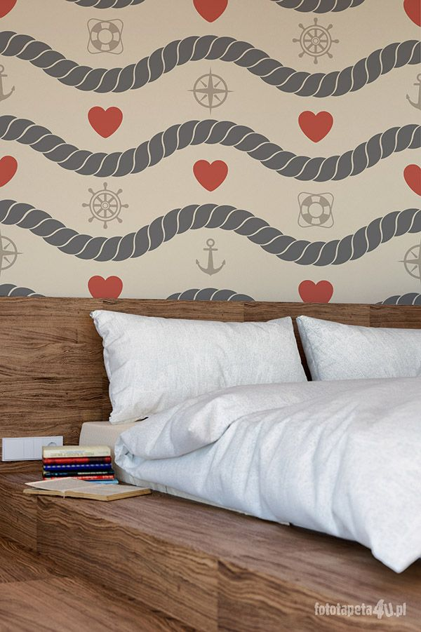 LOVE SEA! Wallpaper by Fototapeta4u.pl