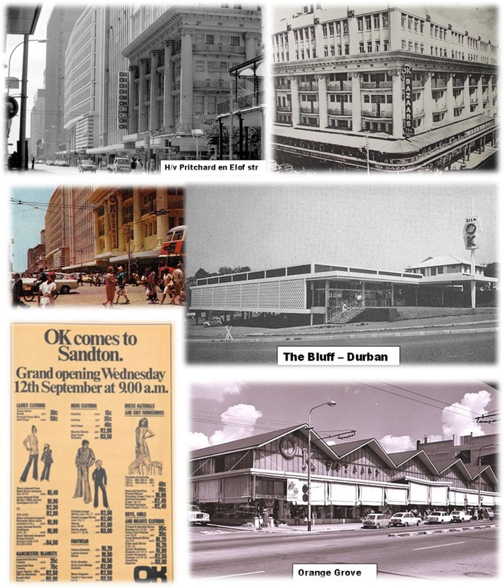 Once the most popular store in Jo'burg - now gone, but not forgotten.
