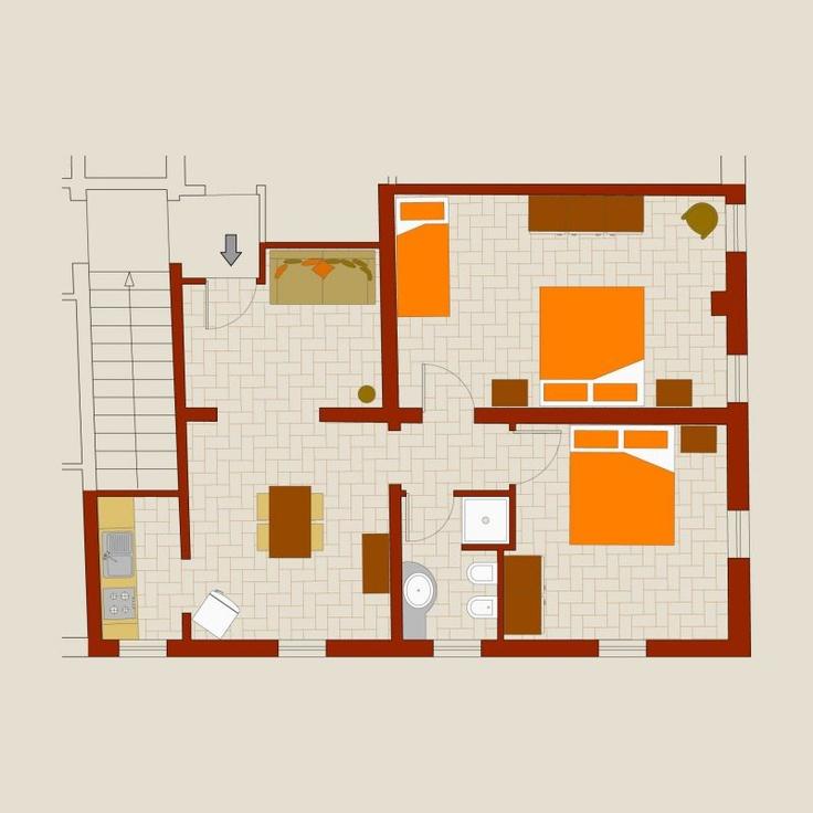 Apartment GINESTRA @ fattoria-fibbiano
