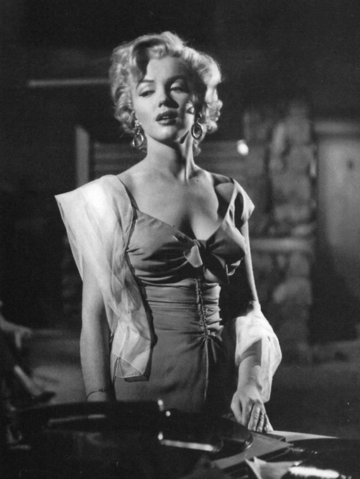 Marilyn Monroe in Henry Hathaway's NIAGARA (1953). As two couples are visiting Niagara Falls, tensions between one wife and her husband reach the level of murder.