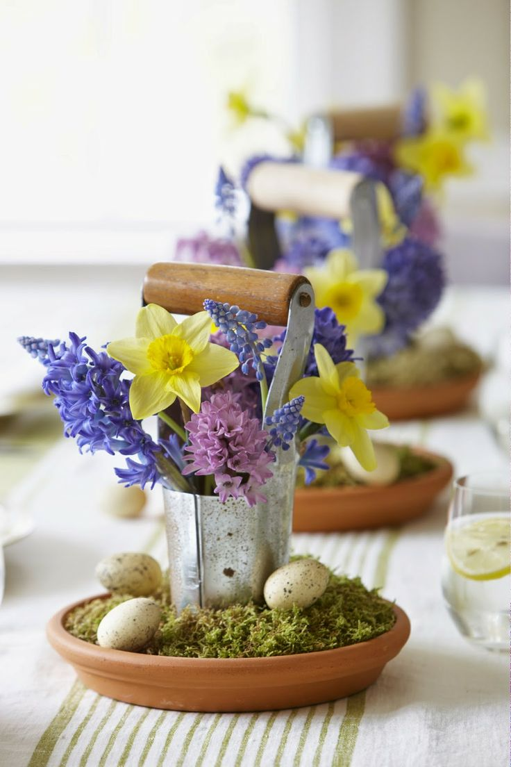 256 best EASTER CENTERPIECES AND DECORATIONS images on Pinterest ...