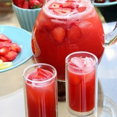 This pretty pink Princess Punch is perfect for birthday parties and is a real crowd pleaser!