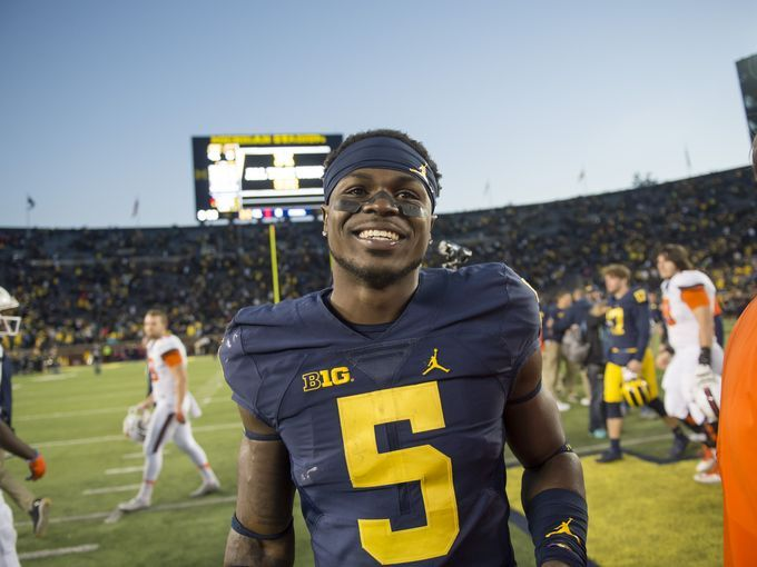 Michigan safety Jabrill Peppers>>>>> that's mah boi!